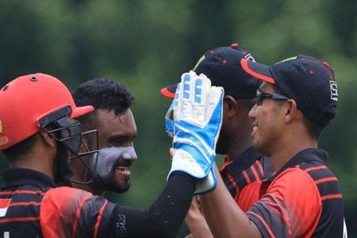singapore beat zimbabwe first t20I victory