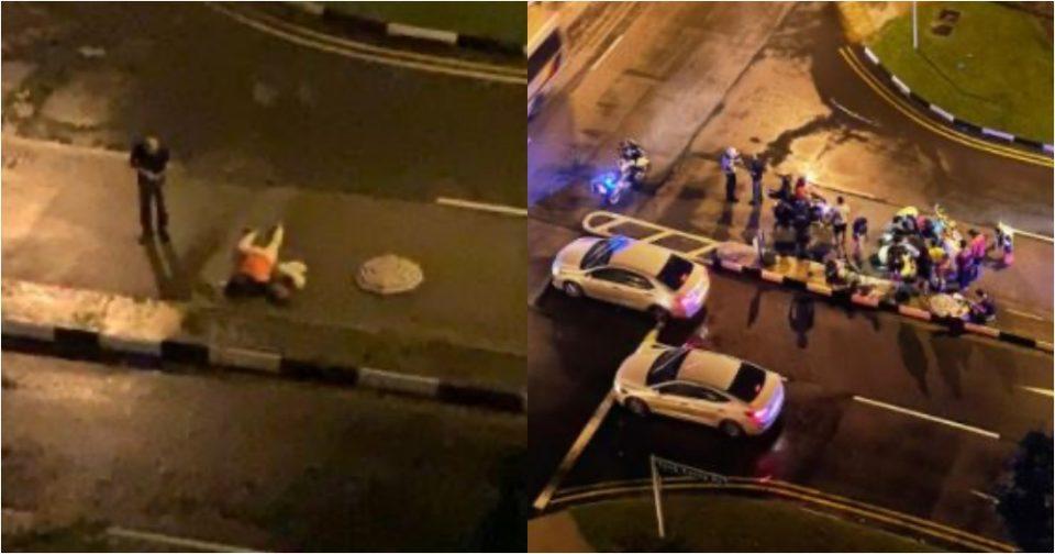 Yuan Ching Road careless driving