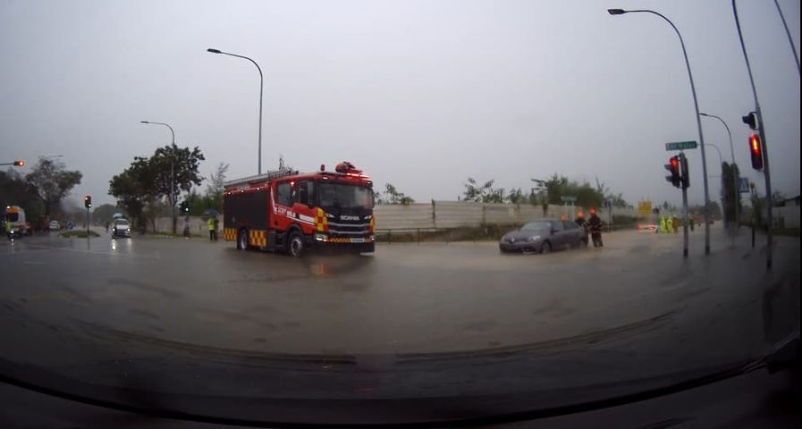 Singapore rain weather